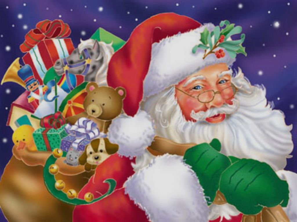 token 12 days of christmas there is a santa claus - Christmas Santa Pictures